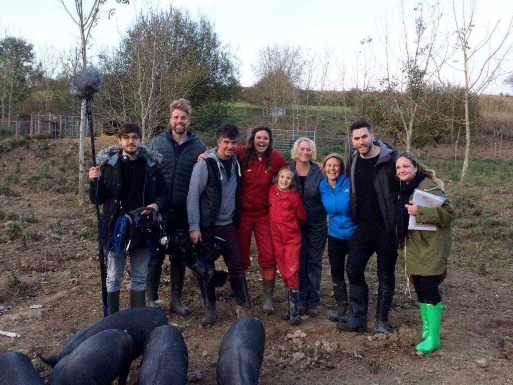 BBC film crew photo